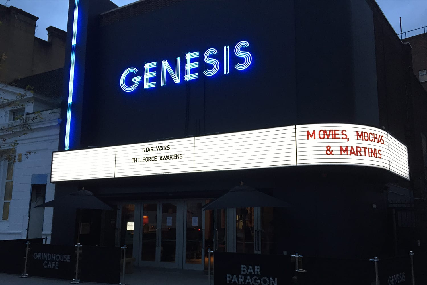 Genesis Cinema, Mile End Road, London